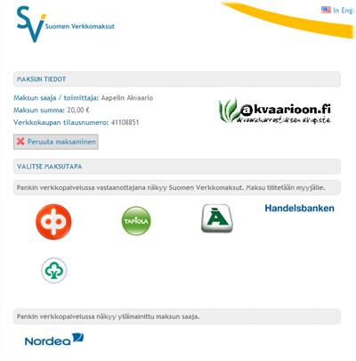 Maksa Visa Electronilla Suomen Casino.comissa