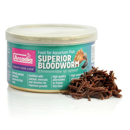 Arcadia Superior Bloodworm 100 g