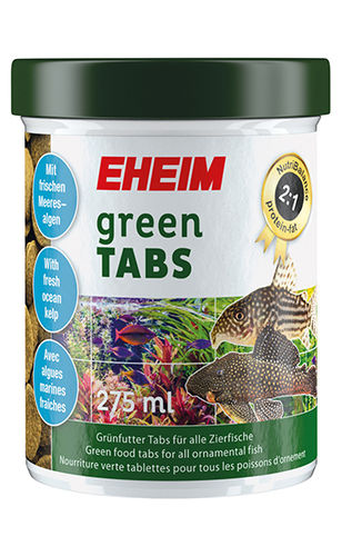 EHEIM greenTABS 118 g/275 ml